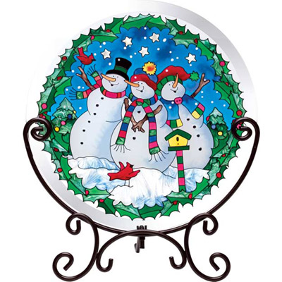 Tabletopper Snowmen Joan Baker TT109