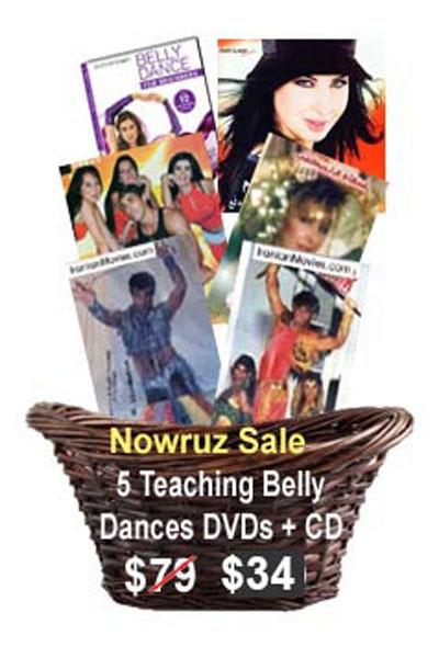 Belly dance dvds