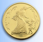 Mother's Day Gold Clad Coin