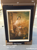 "14"" x 20"" Art Print with Frame - H. Shakiba"
