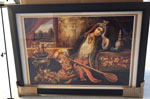 "14"" x 20"" Art Print Framed - Qajar Woman"