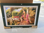 "14"" x 20"" Framed Art Print by Hpjat Shakiba (Qajar Woman)"
